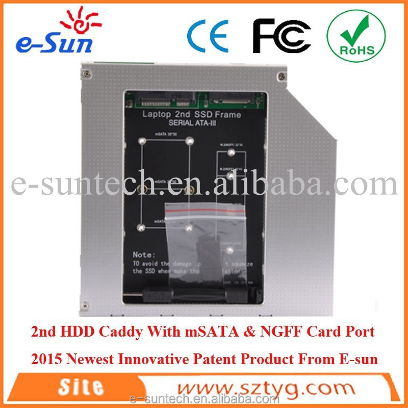 High Quality and Inexpensive Strong Quality Internal Aluminum Alloy SATA NGFF 1TB SSD mSATA SSD Case LL112605
