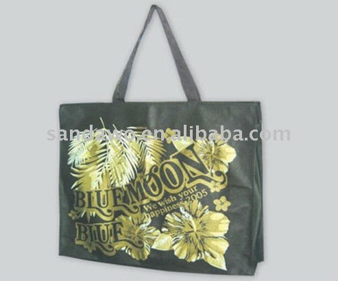 Promotional customized pp laminated pp woven bags