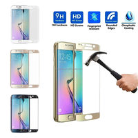 Full Body Covered crystal tempered Glass Screen Protector Guard for samsung s7 edge