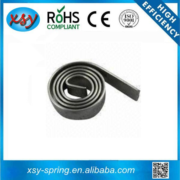 China supplier flat wire spiral constant force springs