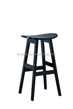 Cheap wooden bar stools , wooden frame, with good quality