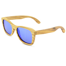 2018 Fashionable Wholesale Zebra Wood Sunglasses,High Quality TAC Lenses