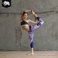 Fashion sports wear fitness clothing women running yoga pants