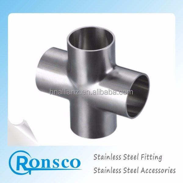 High Quality 4 Inch Stainless Steel Tee With Factory Price