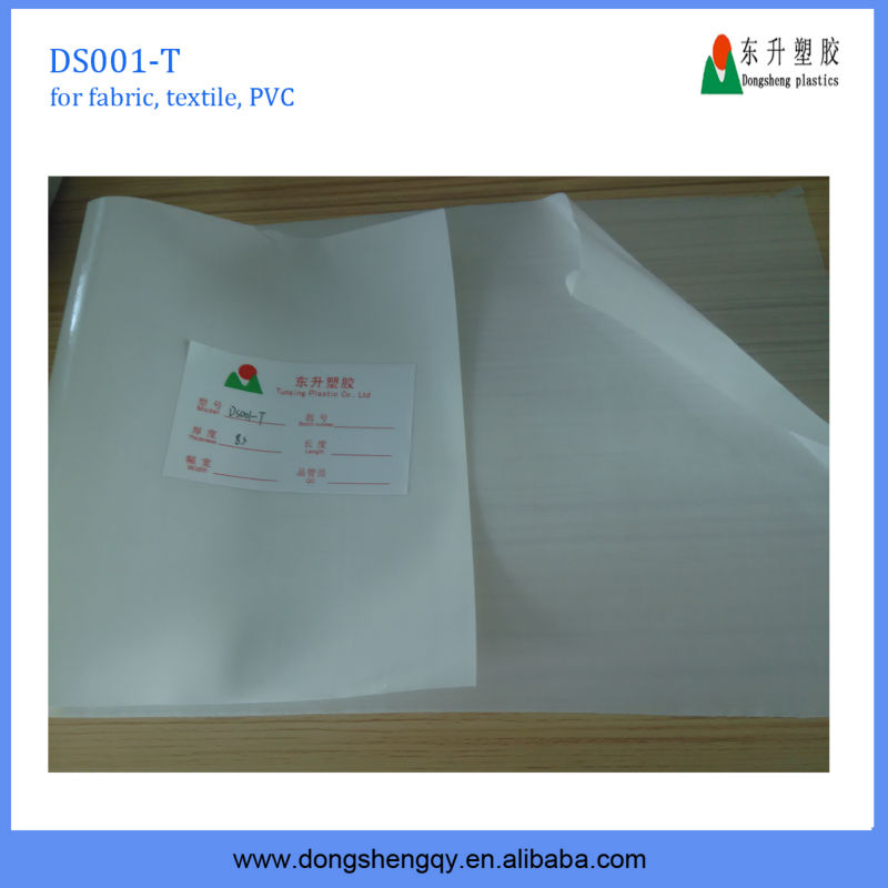 2015 new PVC FILM NORMAL CLEAR NON STICKY