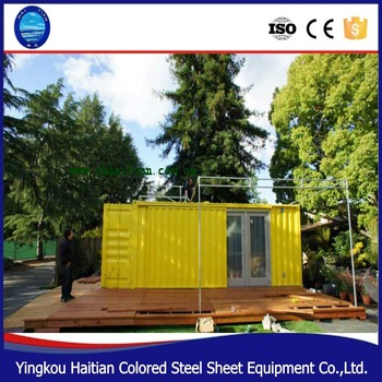 2016 pop hot sale low cost portable office containers Modular prefab home