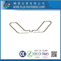 Taiwan Stainless Steel Steel Copper Nickel-Plated OEM Wire Form Spring Wire Pulling Spring Copper Wire Spring