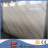 Chinese Polished carrara white marble for sale