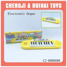 Educational plastic cartoon keyboard toy electron mini piano