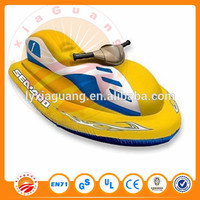 PVC inflatable 4 seater jet ski used jet ski float electric water Scooter