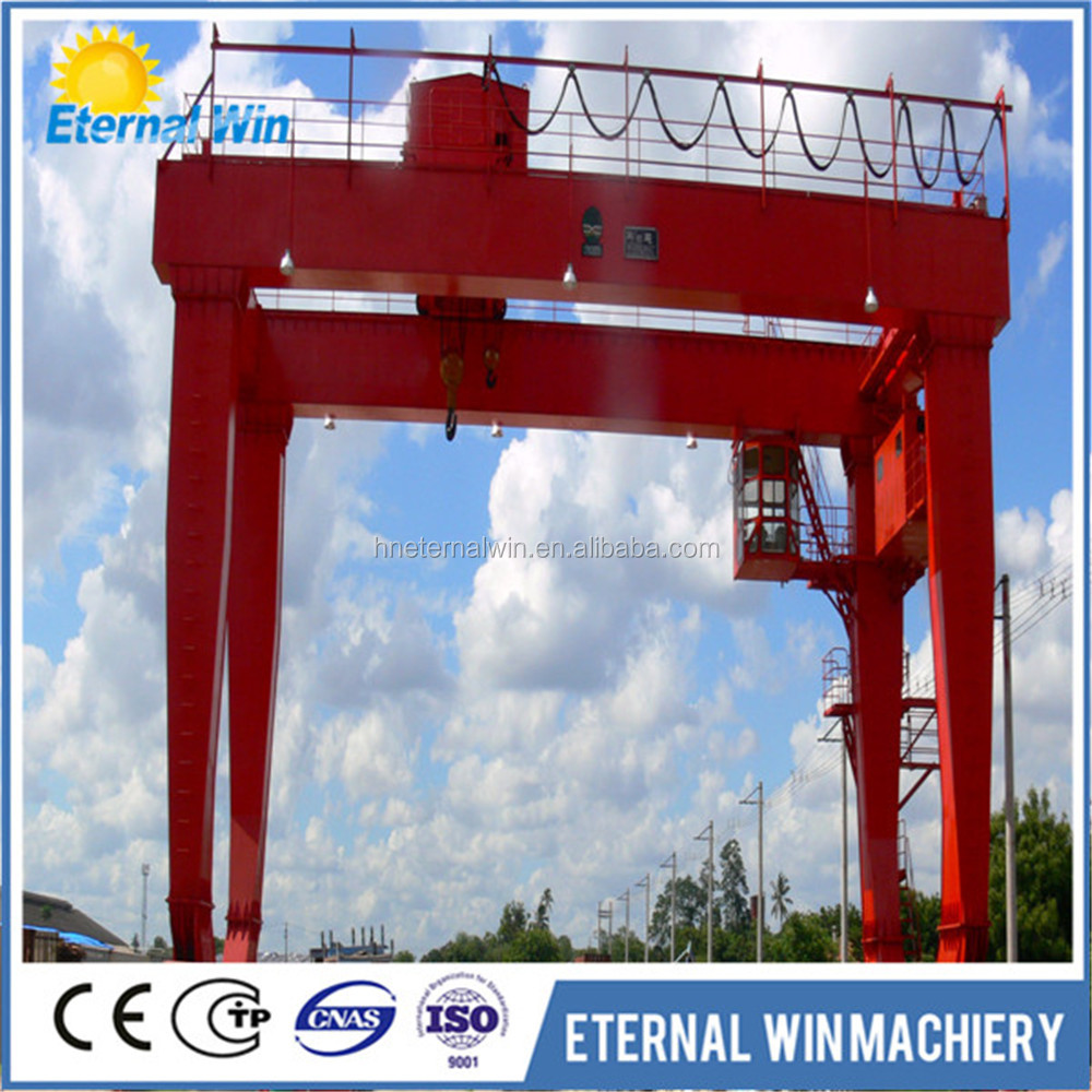 Heavy Duty Shipping Container Lifting Gantry Crane