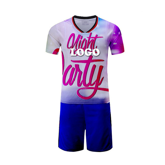 Original low price soccer jerseys newest full sublimation uniforms for kids new jersey club kit