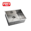 Modern family contemporary style stainless steel kitchen sink