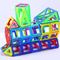 KIDSEASON Creativity & Brain Development Toys Magnetic Building Tiles Educational Toy