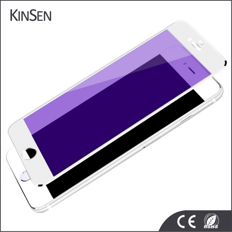 New Design Anti-fingerprint Tempered Glass Screen Protector With High Quality For iphone 6 6s 7