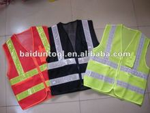 reflective vest/safety vest with pockets/motorcycle reflective safety vest
