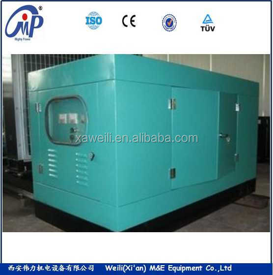 Noise free for 500KW 625KVA diesel gengerator set powered by Shangchai