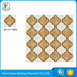natural stone waterjet pattern