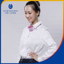 Supplying high quality and nice beauty ladies blouses bank uniform