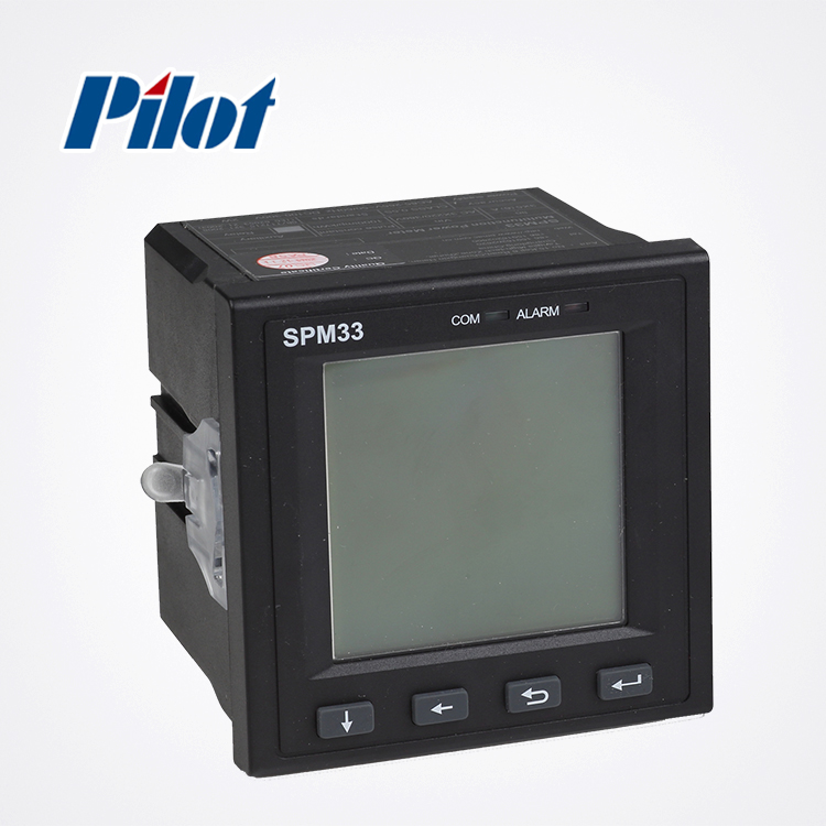 PILOT SPM33 5A LCD Harmonic three phase digital power meter