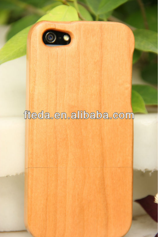 Full protection protect Wooden Hard Back Case for iPhone 4