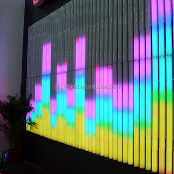 DMX 8 pixel RGB led digital tube / led tube light