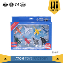 Guangdong toys airline metal diecast 1:400 scale model airplane with cheap price