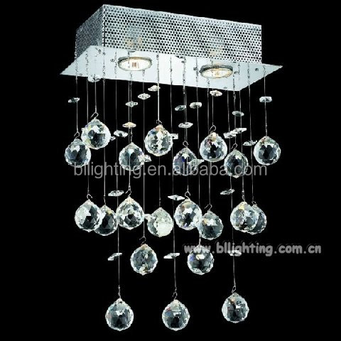Fancy hanging contemporary Crystal Wall Sconces