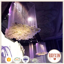 cheap price completely transparent beautiful string curtain