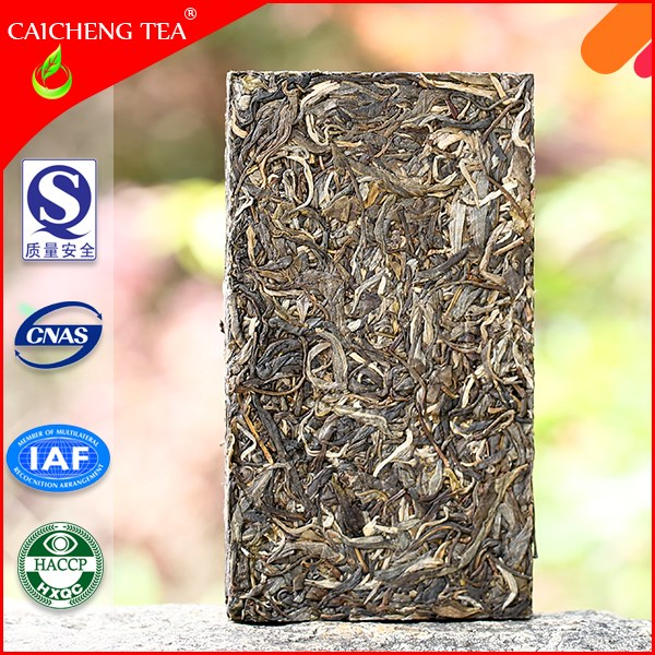 High Quality Organic Lowing Blood Pressure Slimming Tea Puer Raw Tea