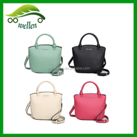 2015 Korean brand new simple leather shoulder bag for lady