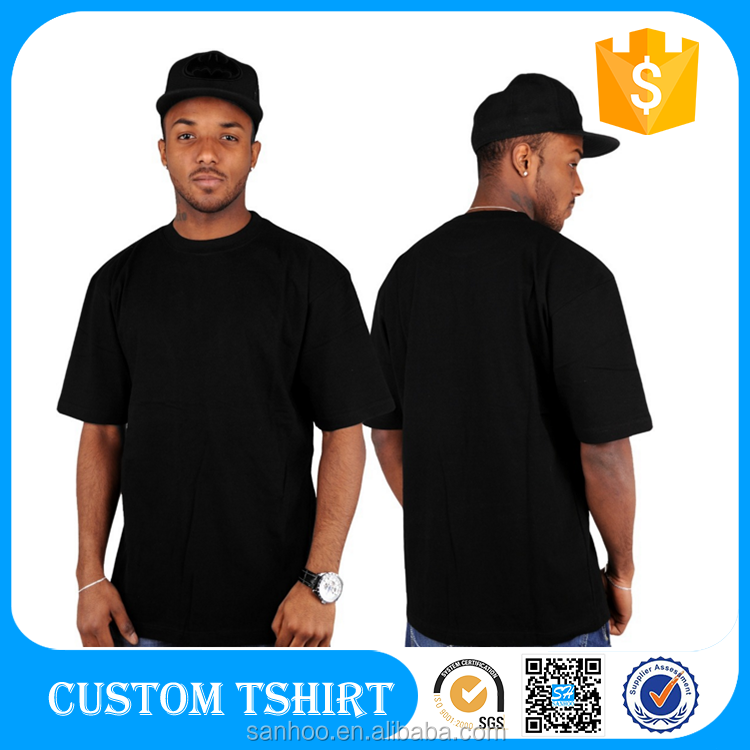 Fitness T Shirt Custom Printing, Wholesale Long T Shirt, Tall Tee Packaging