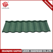Easy installation colorful stone coated metal roofing tile Zinc aluminum roofing,wave tile