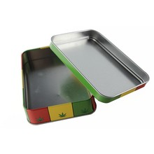 Dongguan supplier customize egg roll packing tin box