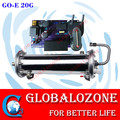 Ozone generator parts 20g water cooled ozone enamel tube units used for water purifier