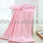 100% polyester thick soft coral fleece blanket