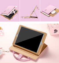 Lady Handbag waterproo shock protective Back Case For Apple ipad 1/2/3 ipad mini 1/2/3 Retina Accessories Stand Cover