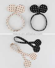 2016 New design Hot-sales south Korean style dot bow children's hair band Female baby princess fashion hair band