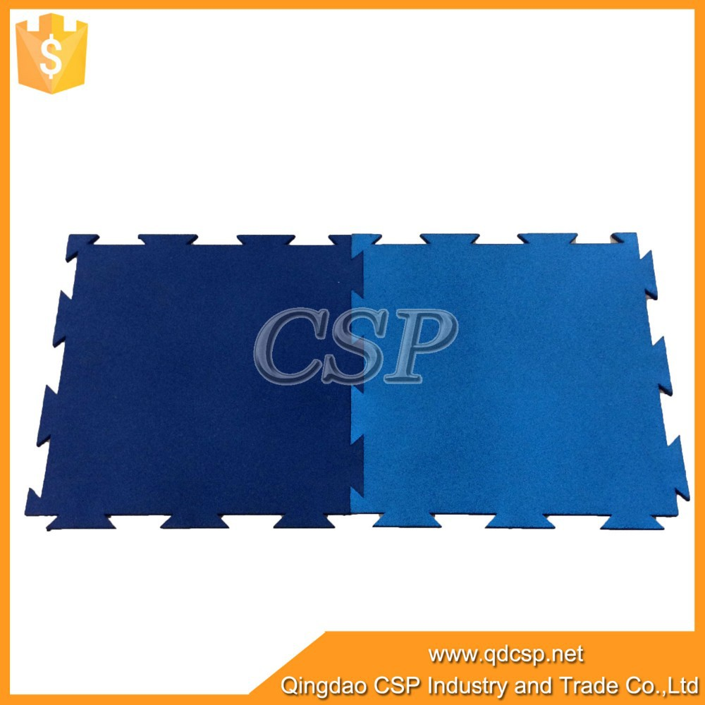 Interlocking rubber Weight room gym flooring/spray rubber flooring