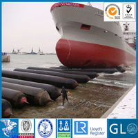 inflatable pneumatic boat launching airbag,Natural rubber high strength floating marine lifting airbag