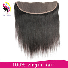 Top quality 8a remy brazilian human hair free parting lace front closures for weaving