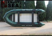 Inflatable santa boat with outboard motor,Zebec inflatable fishing boat,Aluminum hull inflatable boats