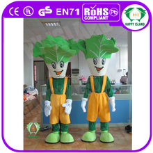 HI CE High quality vegetable mascot costume for sale