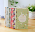 hotsale paper cover colorfull spiral notebook