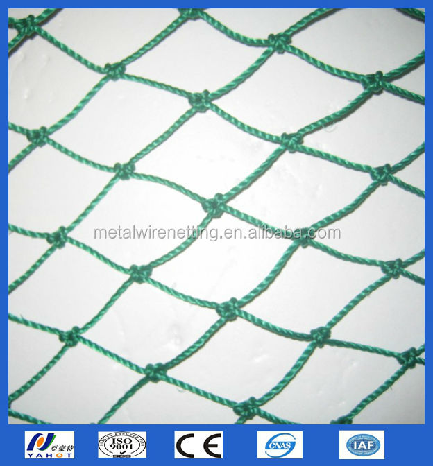 Plastic knotted fishing wire mesh netting buy