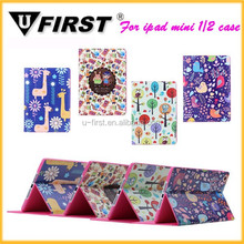 New Arrival Factory price high quality for ipad mini 2 lovely pu leather case