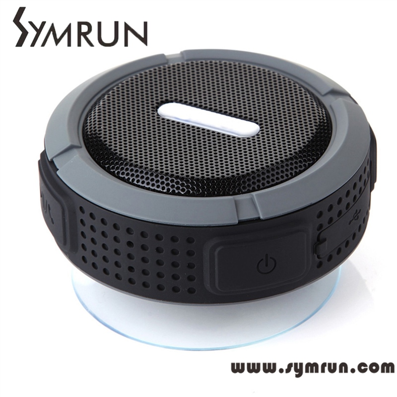 Symrun Free Shipping Portable Wireless Bluetooth Speaker Waterproof,Ip 65 Waterproof Bluetooth Speaker Brand