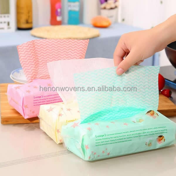 $0.043/count 80 counts kitchen wipes cleaning spunlace dish cloths wholesale