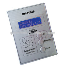 Remote transmitter frequency meter with CE