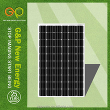 high efficiency low price transparent solar panel